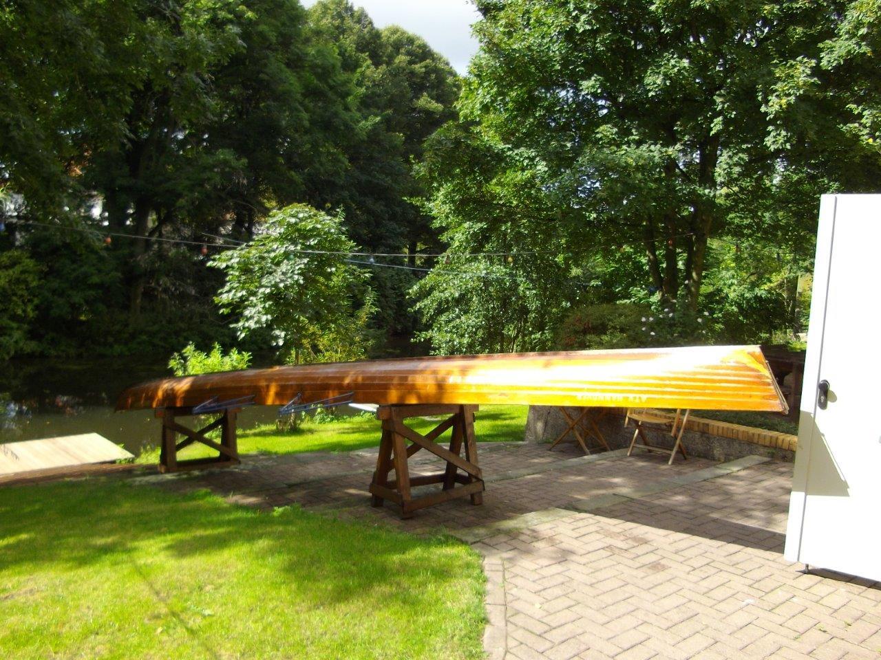 Ruderboot Gig-Vierer
