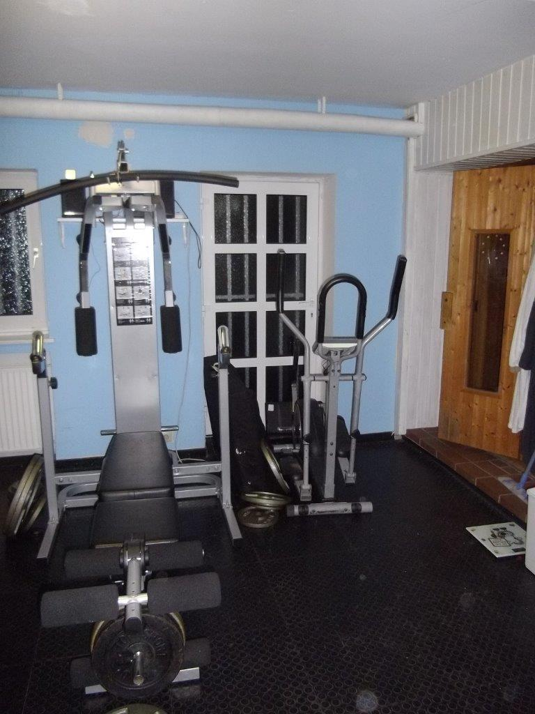 Fitnessraum Geräte