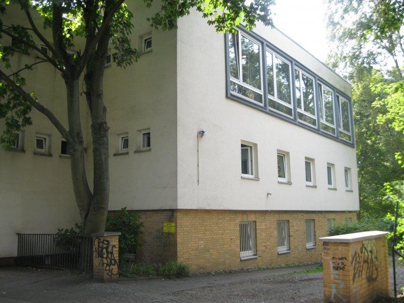 Studentenwohnheim Seiteneingang