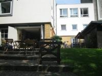 Studentenwohnheim Rückseite
